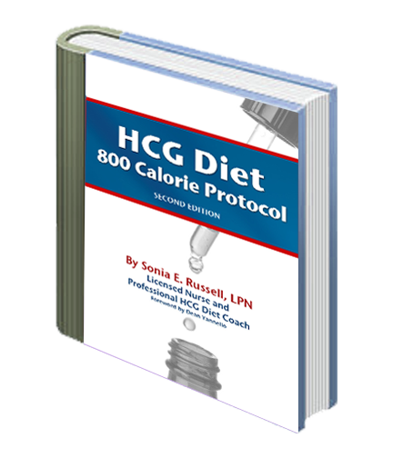 HCG Diet 800 Calorie Protocol eBook - 2nd Edition