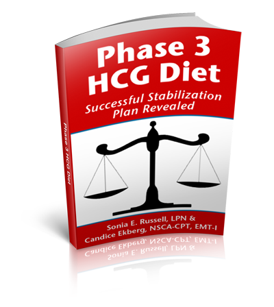 Phase 3 HCG Diet eBook